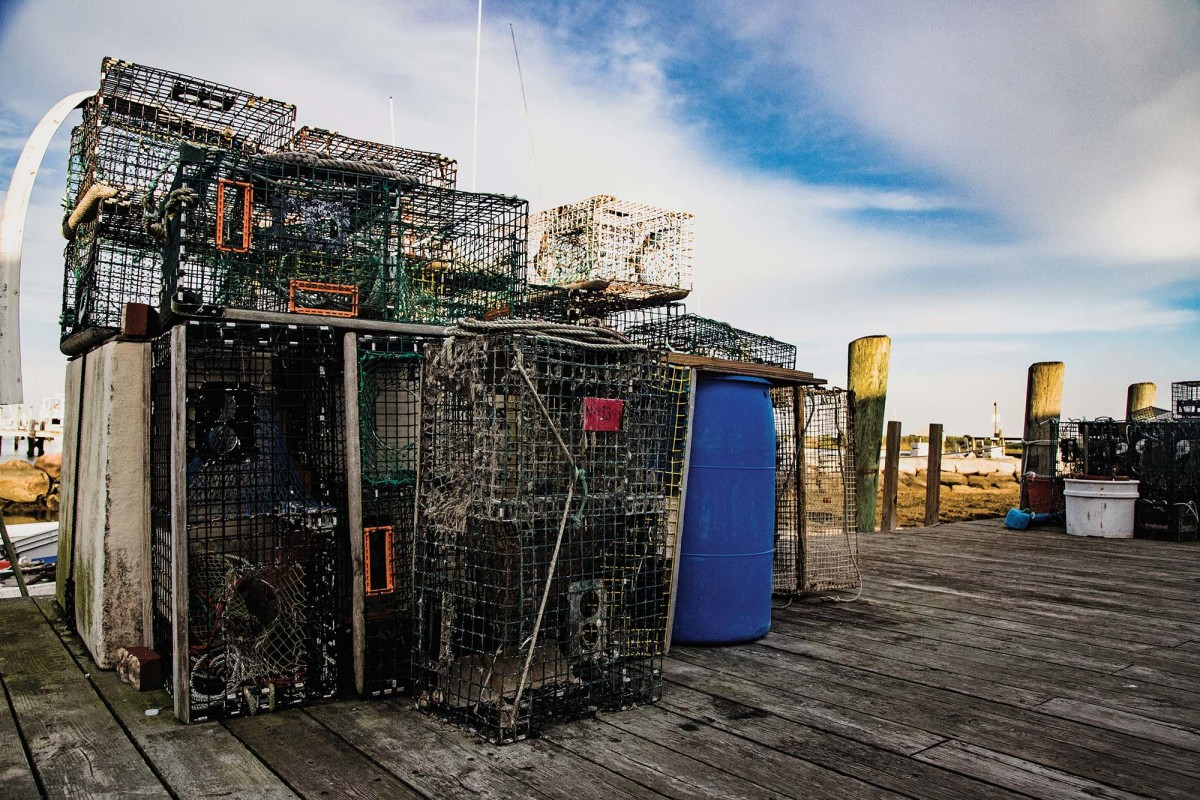 Cuttyhunk is as salty as it gets. Fishing and lobstering are the ways of life for many residents.