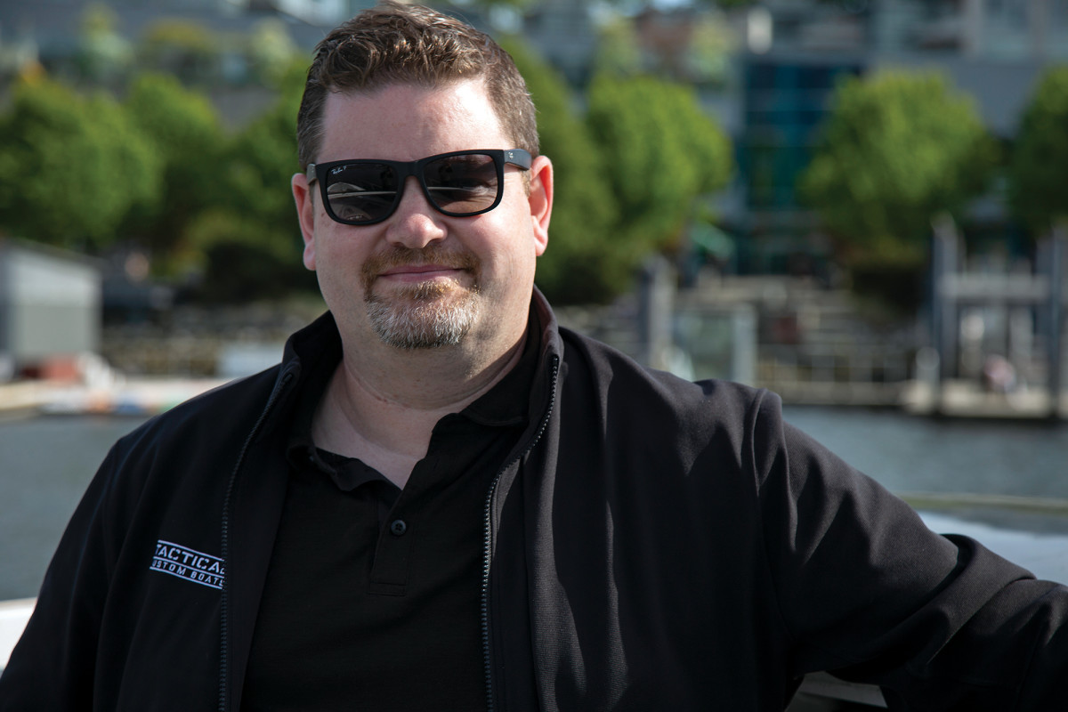 Tim Charles, founder of Tactical Custom Boats