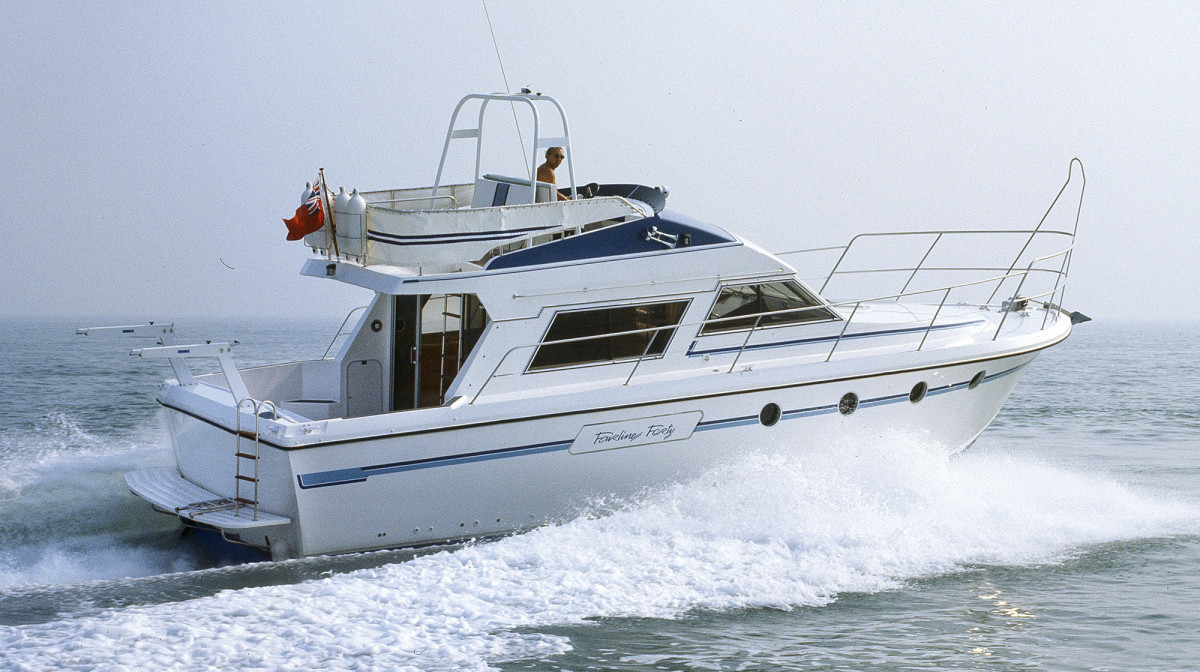The Fairline 40, a flybridge design, garnered more attention from an international audience which led to larger boats.