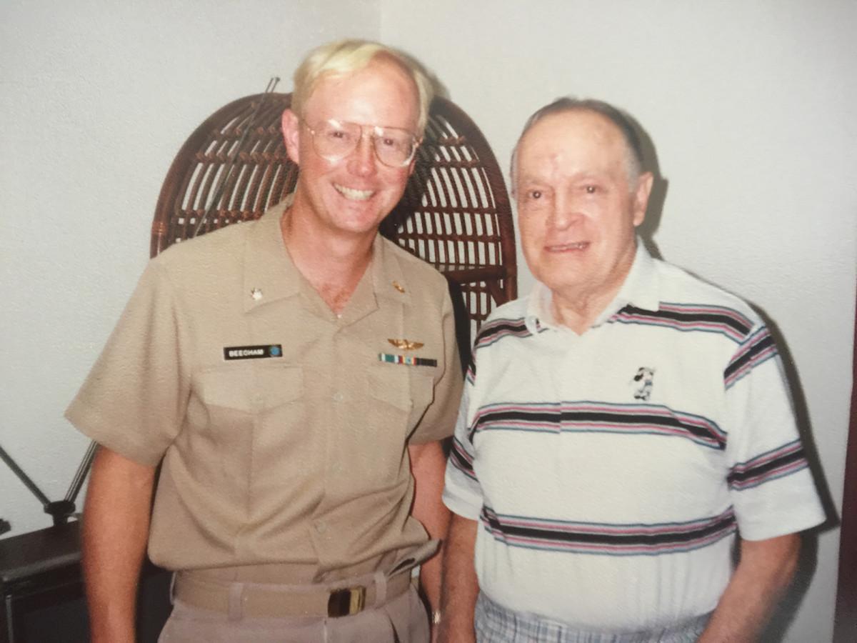 Harry J. Beecham and Bob Hope.
