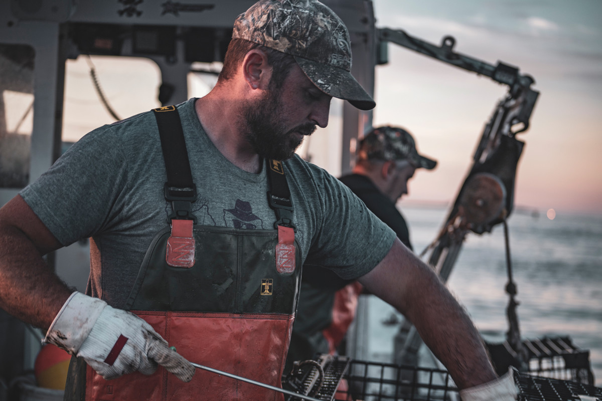 Lobstering requires spry, deft hands and a strong back. But in Maine, it's not just for the young: Lobstermen and women do it well until their 80s.