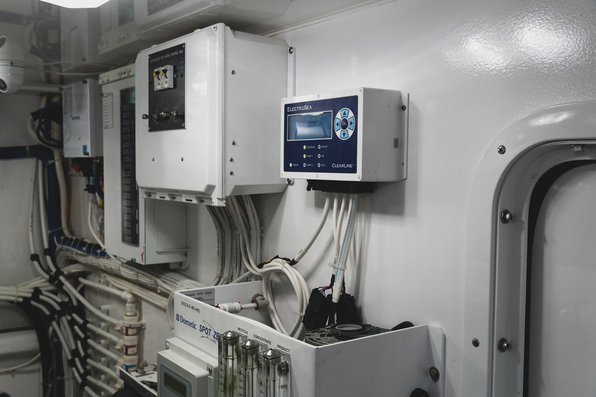 ClearLine units are heat-resistant, designed for an engine-room mount.