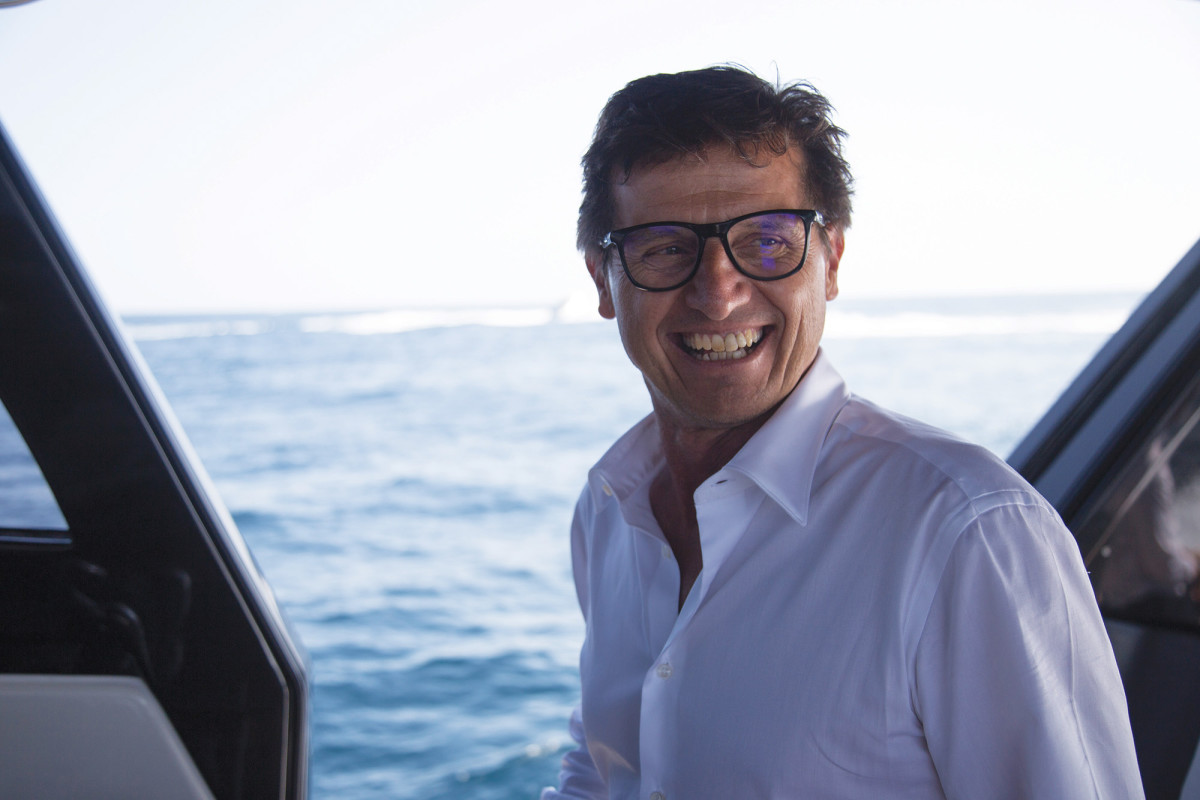 Bluegame founder Luca Santella's successful SX Series explorer yachts for Sanlorenzo were his inspiration for the BGX70.