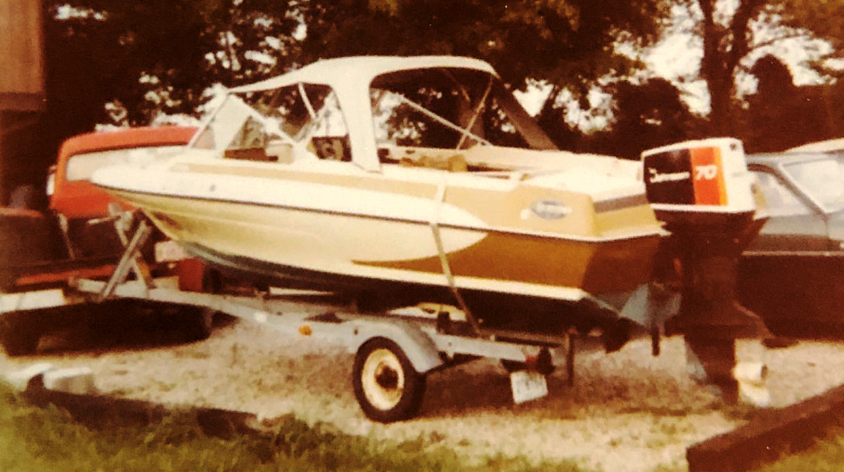 A love affair with boating began on this simple boat.