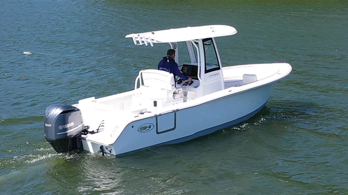 02-Single engine boat