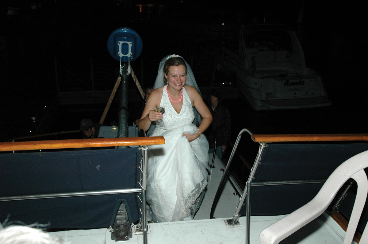 02b-wedding night party onboard