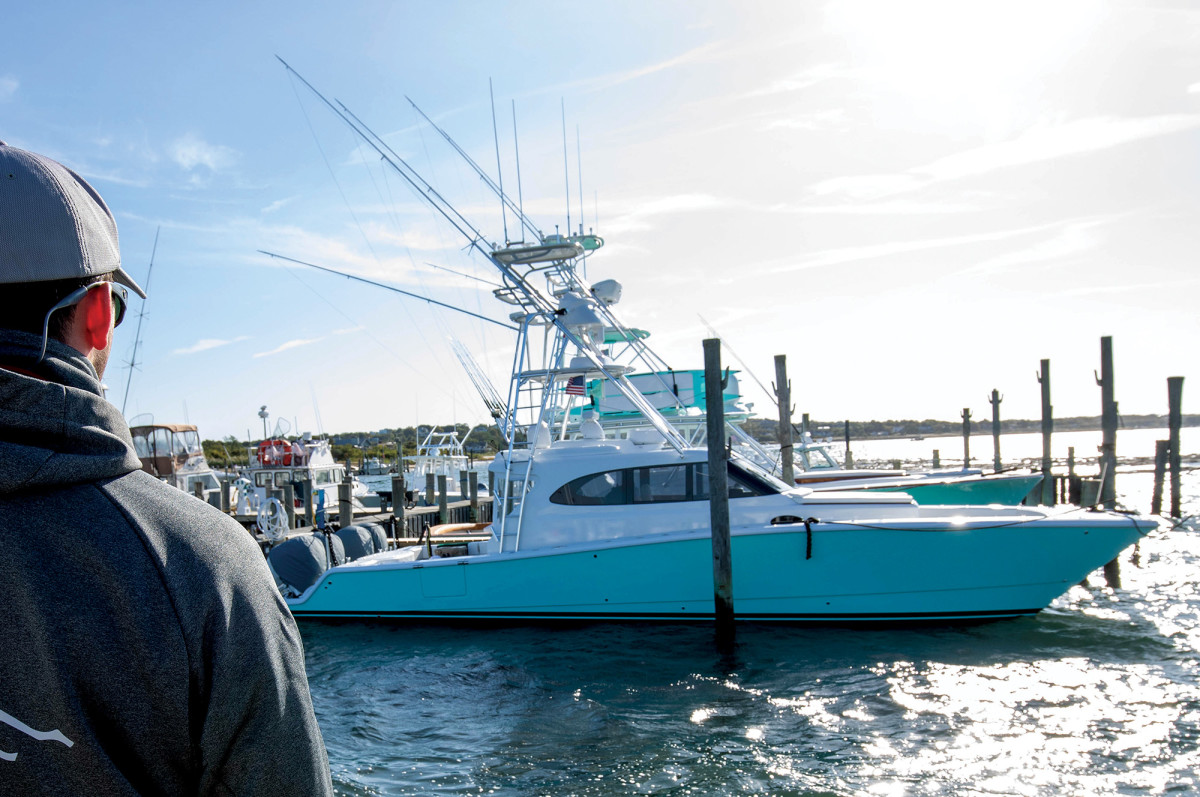 With a Freeman Boatworks hull and a custom-made Merritt house, Last Mango is a one-off vessel that combines classic looks with high-performance capabilities.