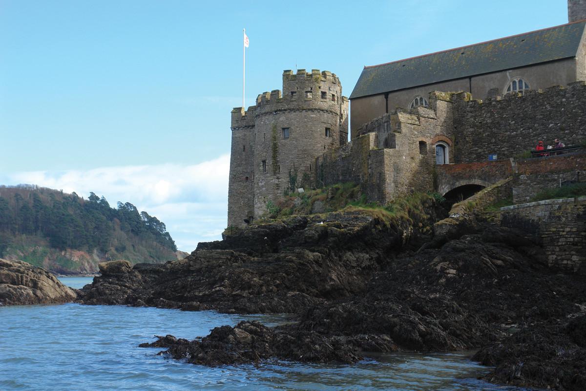 Dartmouth Castle in Devon.