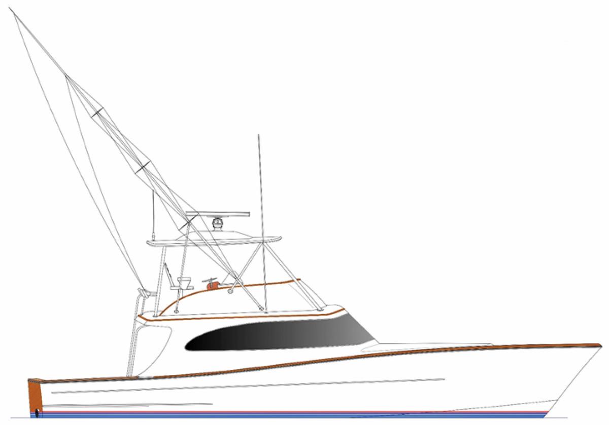 Release 55 Walkaround Flybridge Profile