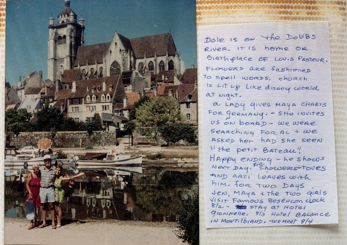 Ancient architecture, fresh baguettes and wide smiles punctuated Grover's leisurely cruise through Europe.
