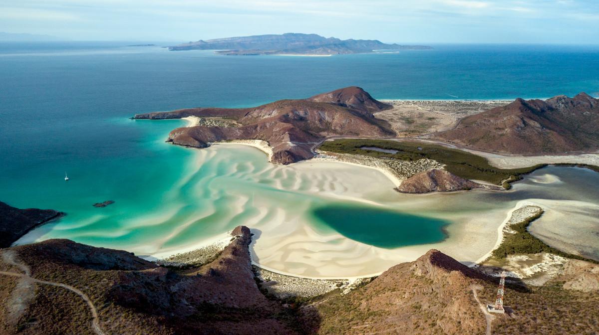 Baja: where the desert tumbles into the Sea of Cortés, creating a shoreline full of pristine vistas.