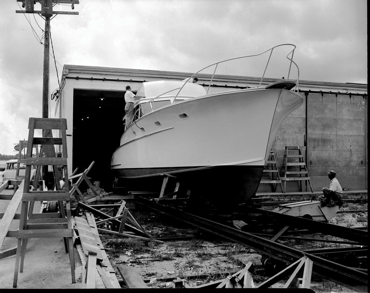 Bimini Babe 2 launch - 20-Dec-1959