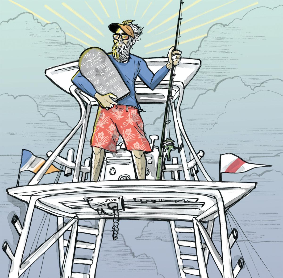 The Ten Commandments of Fishing