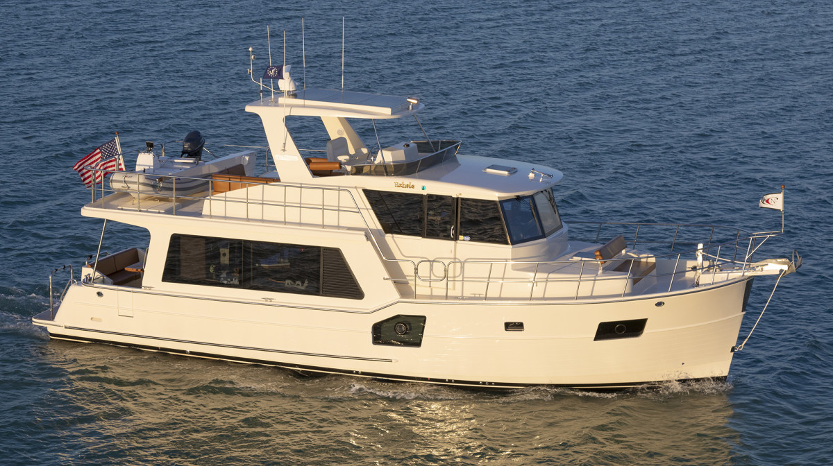 North Pacific 49 Euro Pilothouse