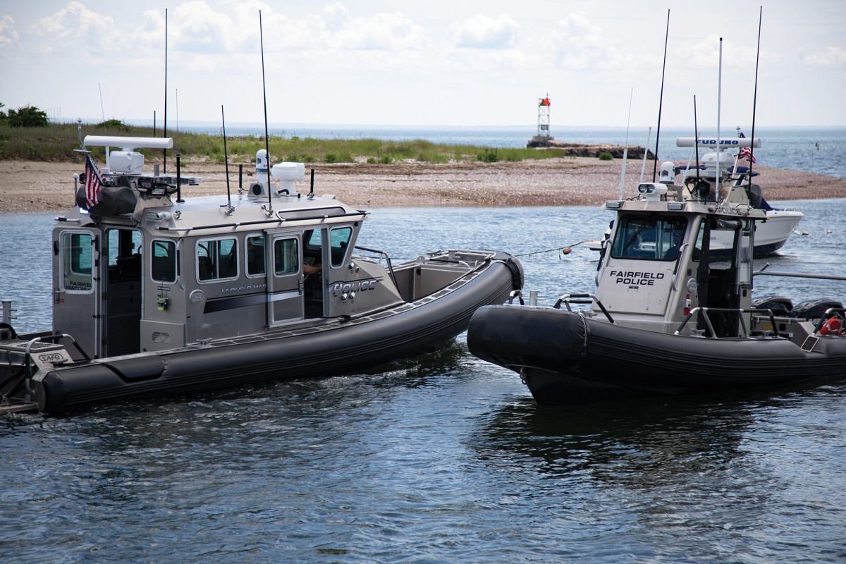 The town's marine unit fleet was made possible thanks to grants from the Department of Homeland Security.