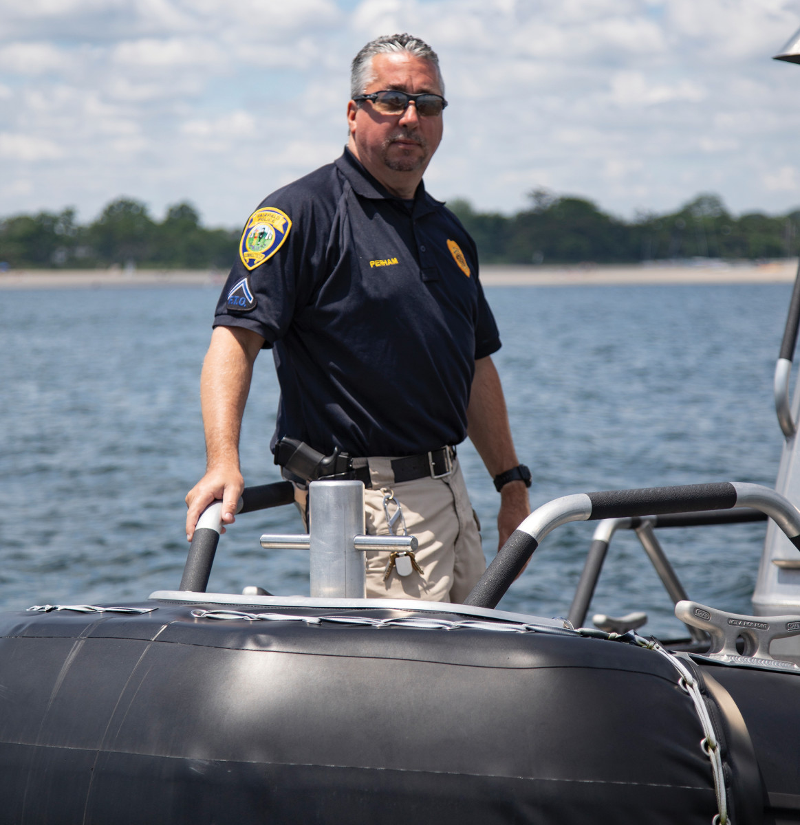 For 19-year veteran of the Fairfield Police Department Keith Perham, patrols are nothing new.