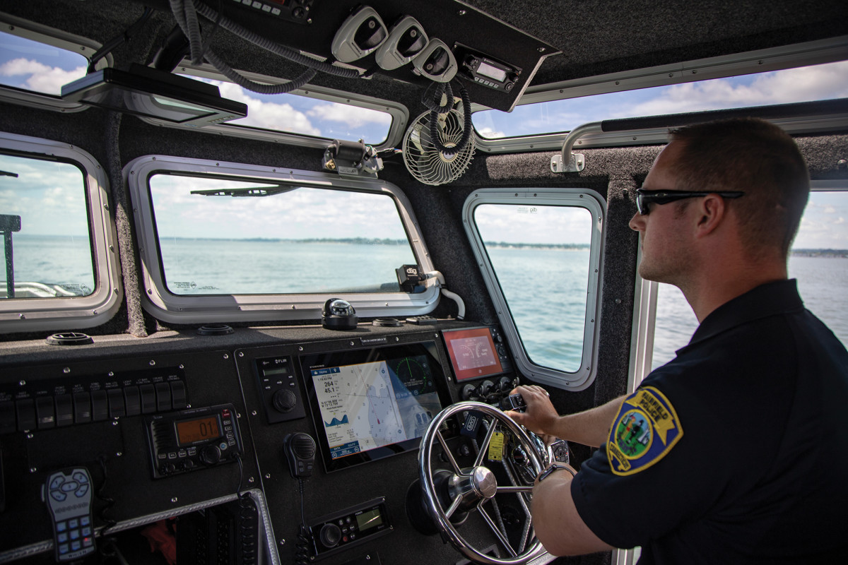 With many new boaters taking to the water, John has to keep a close eye on the horizon. Emergencies can happen at a moment's notice.