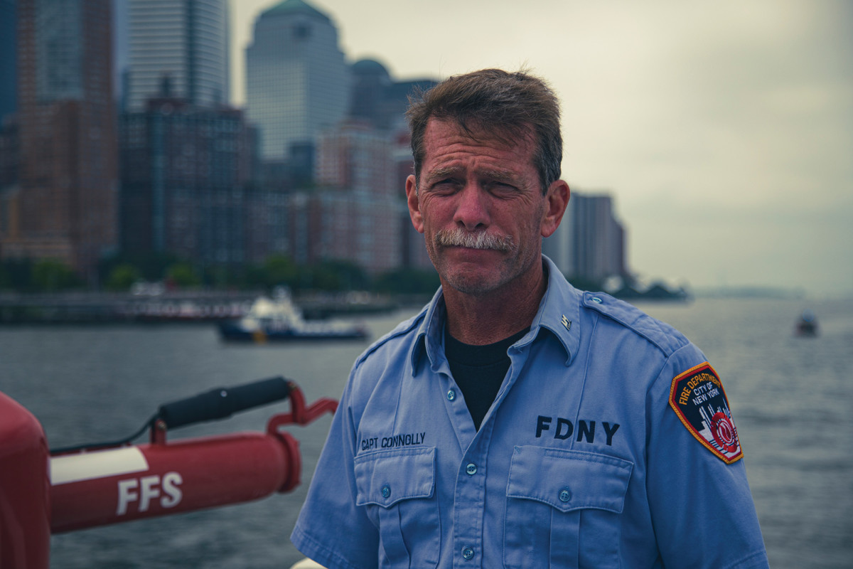 Capt. Connolly worked at Ground Zero, and is closely familiar with tragedy, as well as the city's ability to rebound.